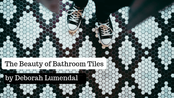 [image of tiled floor] The Beauty of Bathroom Tiles by Deborah Lumendal
