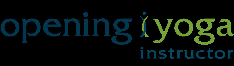 opening yoga instructor logo II