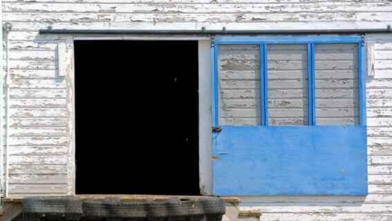 Blue Door - Photo by Annie Hickman