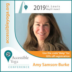 Amy Accessible Yoga Conference